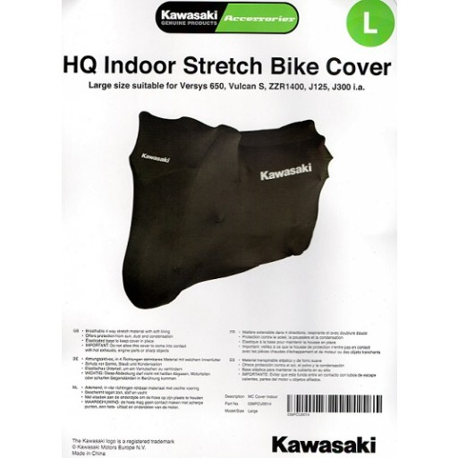 Kawasaki HQ Indoor Bike Cover Large