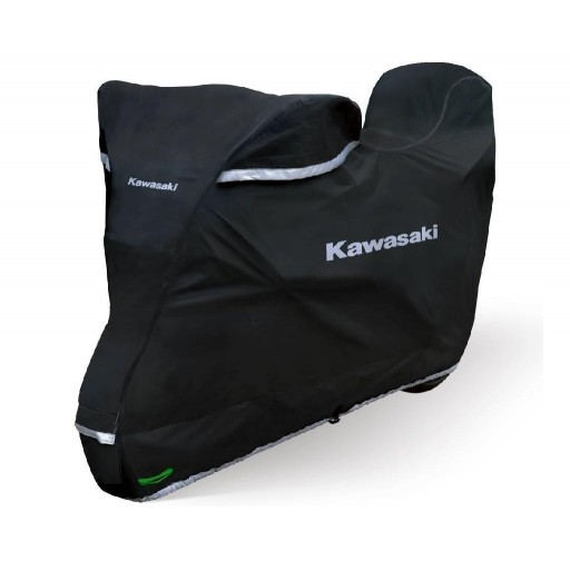 Kawasaki Premium Outdoor Bike Cover XL + Top Case