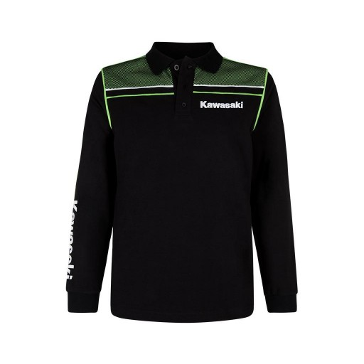 Kawasaki 2019 Sports Polo Shirt (Long)