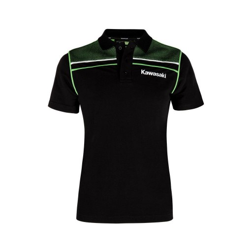 Kawasaki 2019 Ladies Sports Polo Shirt (Short)