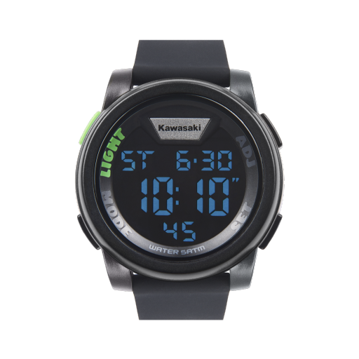 Kawasaki 2019 Digital Watch Black