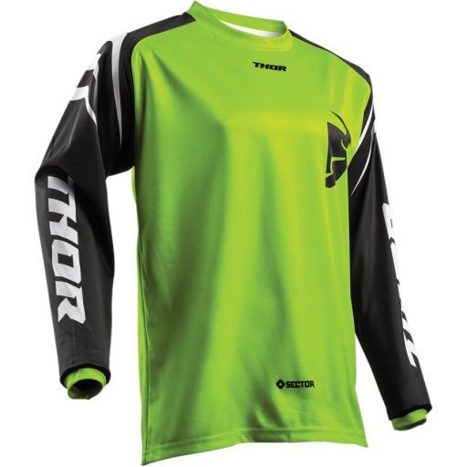 Thor 2018 Zones Lime Jersey