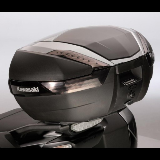 Kawasaki 47L Top Case Cover Metallic Spark Black