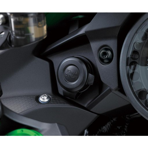 Kawasaki Ninja H2 SX 12V Power Outlet Socket
