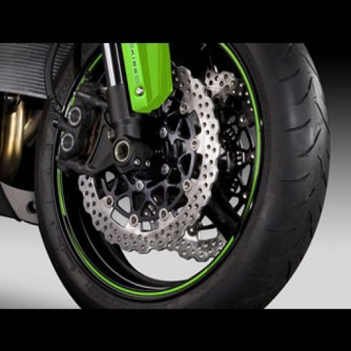 Kawasaki Green Wheel Rim Tapes