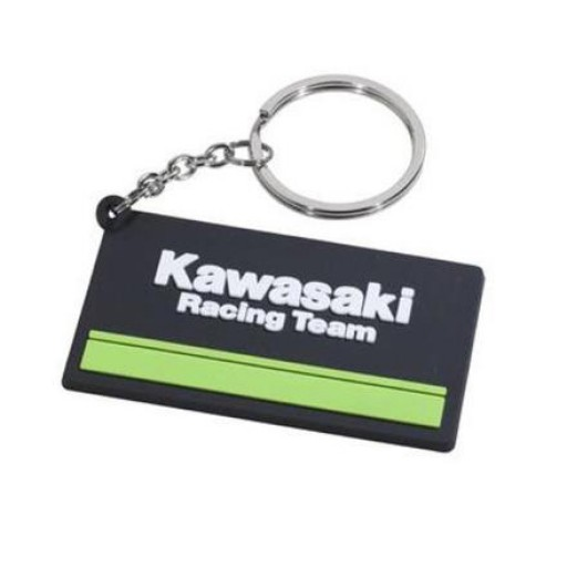 Kawasaki Racing Team Rubber Keyring