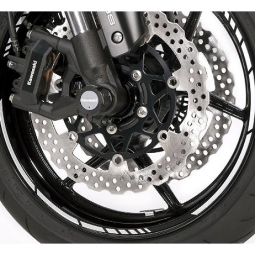 Kawasaki Wheel Rim Tapes GP Style Red