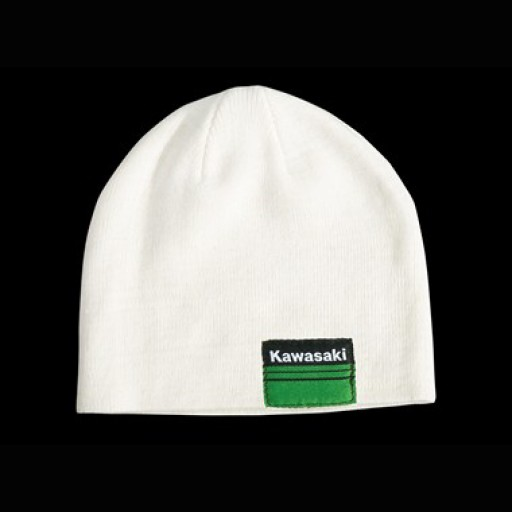 Kawasaki Sports II Kids White Beanie