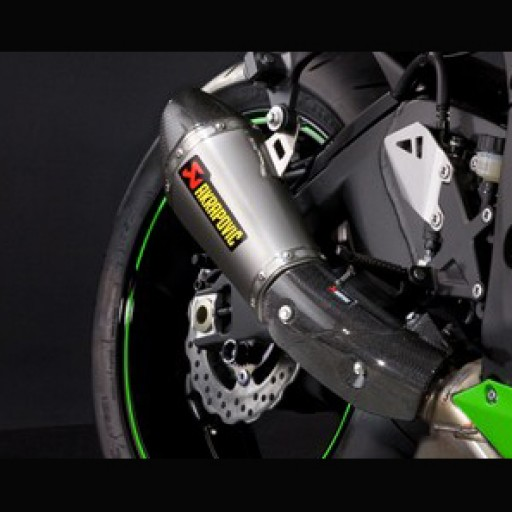 Kawasaki ZX10R Akrapovic Short Exhaust
