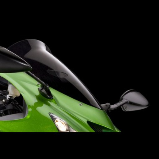 Kawasaki ZZR1400 2012-2017 Smoked Spoiler Screen