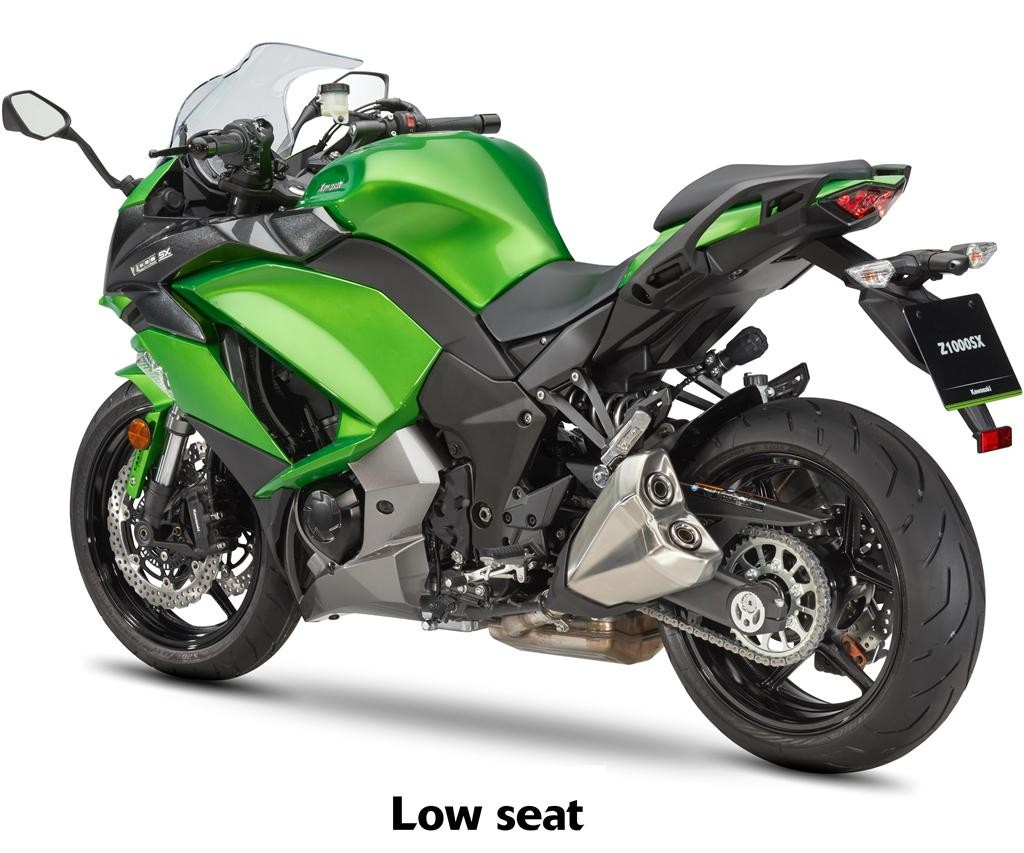 Genuine Kawasaki Parts Kawasaki Z1000sx 2017 Seat Low