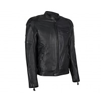 Kawasaki RS Leather Jacket Black