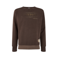 Kawasaki 2019 DOHC Mens Hoody Brown