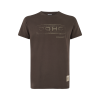Kawasaki 2019 DOHC Mens Shirt Short Brown