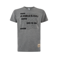 Kawasaki 2019 Mens T Shirt Short Grey
