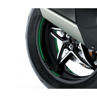 Kawasaki Ninja H2 SX Green Wheel Tape Kit