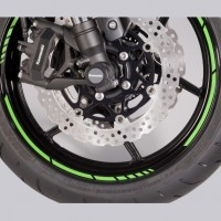 Kawasaki Wheel Rim Tapes GP Style Green