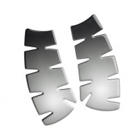 Kawasaki ZX-6R Metal Look Knee Pad