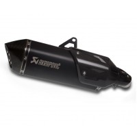 Kawasaki Versys 1000 Akrapovic Black Titanium Slip On.