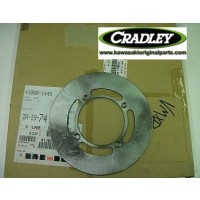 KX80/100 1998/2000 Optional Rear Brake Disc