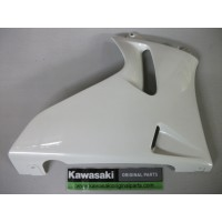 ZZR 600 E2 1994 Left Lower Panel Pearl White