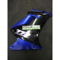 ZZR250 H3 EU Model Right Hand Cowling Ebony/Metallic Sonic Blue