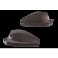 Kawasaki Versys Coloured Hand Guard Shells Black