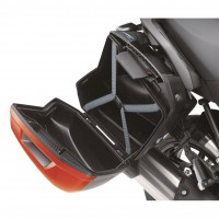 Kawasaki Pannier Cover 660 Metallic Spark Black