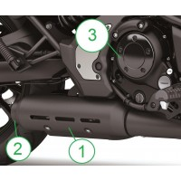 Kawasaki Vulcan S Chrome Clutch Cover Plate