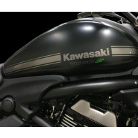 Kawasaki Vulcan S Tank Stripe Decal Anthracite(Black)