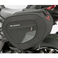 Kawasaki Soft Saddlebags With Fitting Kit