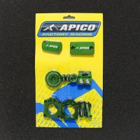 KXF 250/450 Apico Bling Kit Green 2009/2018