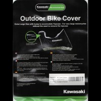 Kawasaki Outdoor Bike Cover XL For Top Boxes