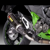 Kawasaki Z800 Akrapovic Exhaust Short Carbon
