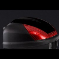 Kawasaki Top Case 30L Coloured Cover Metallic Carbon Grey