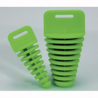 Exhaust End Cap Green Two Stroke