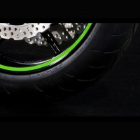 "Kawasaki Wheel Rim Tapes 17"" One Wheel"