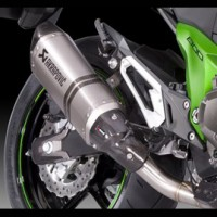 Kawasaki Z800 Akrapovic Exhaust Short Spare Carbon Heatshield
