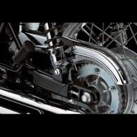 Kawasaki W800 Chrome Chainguard