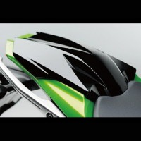Kawasaki Z1000SX Single Seat Cover Kit Candy Lime Green