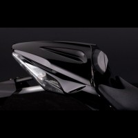 Kawasaki ZX10R Single Seat Cover Kit Metallic Sparkling Black