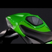 Kawasaki ZX10R Single Seat Cover Kit Lime Green