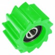 KXF 2007> Chain Roller 38mm (Apico) Green
