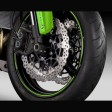 Kawasaki ER6F 2013 Wheel Rim Tapes Silver
