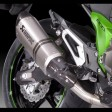 Kawasaki Z800 Akrapovic Exhaust Short Spare DB Killer