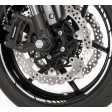 Kawasaki Wheel Rim Tapes GP Style White