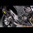 Kawasaki Z800E Akrapovic e Version Short Exhaust Carbon
