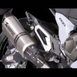 Kawasaki Z800E Akrapovic e Version Short Exhaust Titanium